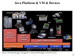 java platform vm devices