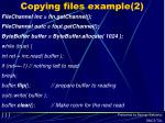 copying files example 2
