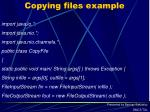 copying files example
