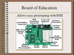 board of education