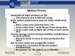 medium priority
