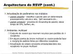 arquitectura do rsvp cont