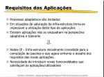 requisitos das aplica es1