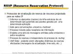 rsvp resource reservation protocol