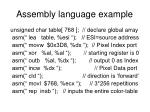 assembly language example