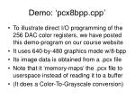 demo pcx8bpp cpp