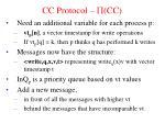 cc protocol cc