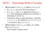 cc timestamps reflect causality