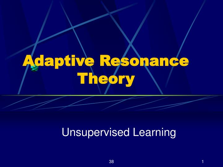 adaptive resonance theory n.