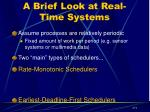 a brief look at real time systems1
