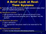 a brief look at real time systems3