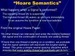 hoare semantics