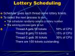 lottery scheduling1
