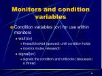 monitors and condition variables1