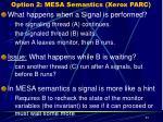 option 2 mesa semantics xerox parc
