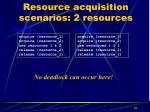 resource acquisition scenarios 2 resources1