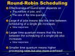 round robin scheduling29