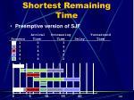 shortest remaining time13