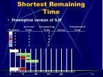 shortest remaining time8
