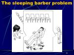 the sleeping barber problem