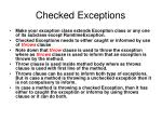 checked exceptions1