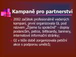kampan pro partnerstv