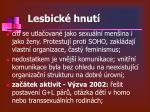 lesbick hnut