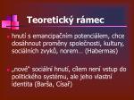 teoretick r mec