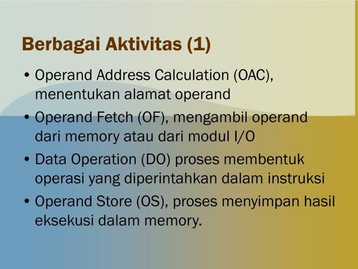 Berbagai Aktivitas (1)