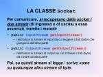 la classe socket2