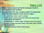 water cycle video link