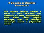 o que s o os direitos humanos