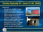 smoke episode 1 june 21 28 20081