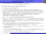 scanf format specifier