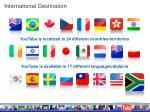 international destination