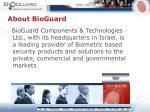 about bioguard