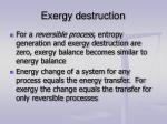 exergy destruction8