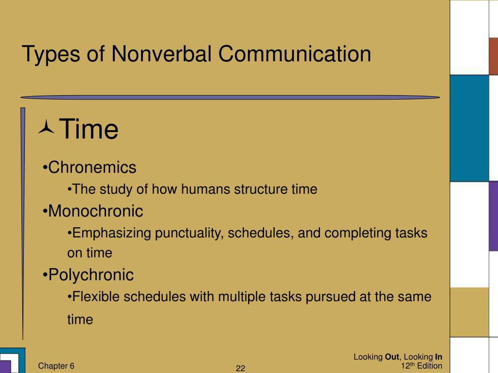 Ppt Nonverbal Communication Messages Beyond Words Powerpoint Presentation Id 4551755 Chronemics also factors heavily in the world of time management. ppt nonverbal communication messages