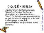 o que a biblia1