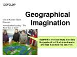 geographical imagination