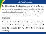 4 5 fase recursal3