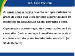 4 5 fase recursal4