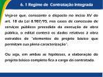 6 1 regime de contrata o integrada6