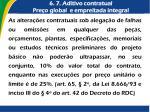 6 7 aditivo contratual pre o global e empreitada integral