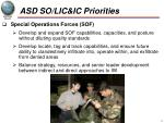 asd so lic ic priorities1