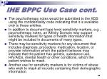 ihe bppc use case cont