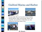 guilford marina and harbor