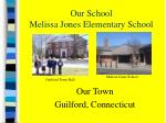 our school melissa jones elementary school