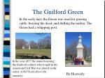 the guilford green