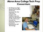 akron area college tech prep consortium2